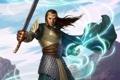 Картинка магия, эльф, меч, властелин колец, lord of the rings, Elrond, Элронд