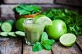 Картинка лайм, Apple juice, зелень, яблоко, огурцы, lime, cucumber