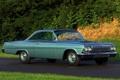 Картинка фон, Chevrolet, Шевроле, классика, Bel Air, Coupe, передок
