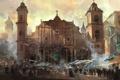 Картинка город, здание, церковь, Assassins Creed IV Black Flag