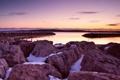 Картинка пейзаж, закат, lake michigan