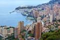 Картинка море, города, берег, побережье, дома, франция, монако