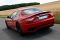 Картинка задок, Maserati, MC Sport Line, GranTurismo S, машина, красный