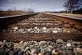 Картинка перспектива, железная дорога, шпалы