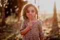 Картинка ребенок, очки, девочка, леденец, кудри