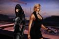 Картинка оружие, девушки, Mass Effect 2, шепард, fan art, касуми, Shepard
