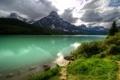 Картинка Canada, water, mountains, scenery, nature., Banf