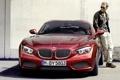 Картинка BMW, передок, тень, мужчина, купе, БМВ, Загато
