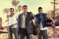 Картинка Майкл, gta, Grand Theft Auto V, Тревор, Франклин