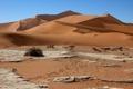 Картинка песок, Намибия, пустыня, Африка, бархан