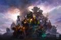 Картинка дерево, арт, World of Warcraft, персонажи, Kan Liu
