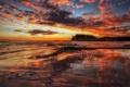 Картинка море, закат, Australia, Victoria, The Cove