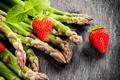 Картинка ягоды, клубника, strawberry, спаржа, fresh berries