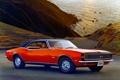 Картинка машина, Chevrolet, Camaro, шевроле, классика, 1968, камаро