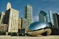 Картинка парк, здания, америка, чикаго, Chicago, сша, миллениум парк