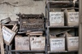 Картинка фон, печатная машинка, документы