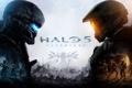 Картинка игра, противостояние, солдаты, эксклюзив, Мастер Чиф, Halo 5: Guardians, агент Лок