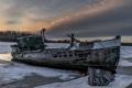 Картинка пейзаж, река, Ghost Ship