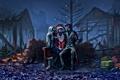 Картинка рождество, christmas, санта клаус, xmas, alexiuss, apocalypse, zee captain