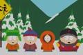 Картинка снег, мультфильм, сериал, южный парк