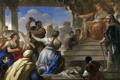 Картинка картина, жанровая, мифология, Лука Джордано, Суд Соломона