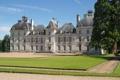 Картинка замок, газон, Франция, дорожка, France, Замок Шеверни, Chateau de Cheverny