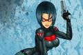 Картинка девушка, костюм, fan art, DC Comics, Red Hood