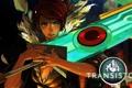 Картинка меч, Red, Transistor, Supergiant Games