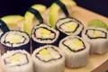 Картинка рыба, рис, суши, роллы