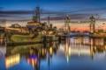 Картинка мост, корабль, Лондон
