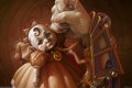 Картинка рука, существо, кукла, механика, Corrado Vanelli