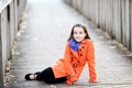 Картинка мост, настроение, девочка