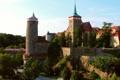 Картинка деревья, замок, Германия, Саксония, архитектура., Saxony, Bautzen