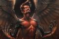 Картинка Deus Ex, icarus, ярость, Adam Jensen, парень, арт, крылья