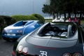 Картинка озеро, Bugatti, Veyron, red, white, black, blue