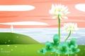 Картинка море, цветок, путешествия, маяк, Ирландия, туризм, страна
