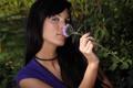Картинка sexy, flower, model, brunette, look, jana Miartusova