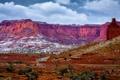 Картинка небо, горы, скалы, пустыня, Гранд-Каньон, Grand Canyon, Национальный парк