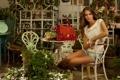 Картинка модель, обои девушки, wallpapers, brunette, models, clara alonso, клара алонсо