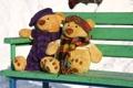 Картинка любовь, ситуации, медведи, пара, прогулка, свидание