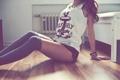 Картинка леггинсы, ноги, девушка, тела, часть