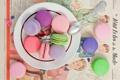 Картинка ложка, Anna Verdina, макарун, macaron, печенье, десерт, выпечка
