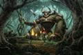 Картинка лес, diablo2, act3