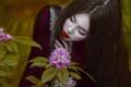 Картинка девушка, фантазия, цвет, макияж, арт, Agnieszka Lorek, Lillian Liu