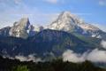 Картинка пейзаж, природа, скалы, высота, гора, Германия, Бавария