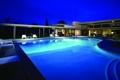 Картинка настроение, вилла, вечер, бассейн