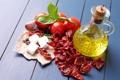 Картинка сыр, перец, помидоры, оливки