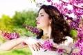 Картинка весна, lilac, цветение, сирень, gorgeous, помада, яркая