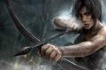 Картинка лук, Tomb Raider, Лара Крофт, Lara Croft