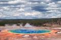 Картинка США, Вайоминг, Призматический источник, Национальный парк Йеллоустоун